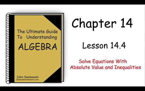 The Ultimate Guide to Understanding Algebra: Chapter 14