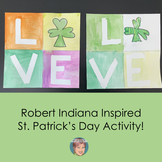 Teaching Video: Robert Indiana Inspired St. Patricks Day P