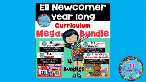 ESL Distance Learning ESL Curriculum  ESL Newcomer  ELL Distance Learning