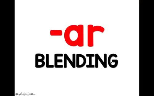 R-Controlled Vowel Blending Powerpoint