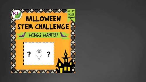 Halloween STEM Challenge: Wings Wanted