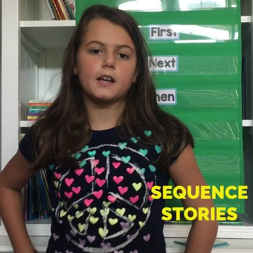 Sequence Writing • Story Retell and Sequencing Prompts Yearlong  BUNDLE
