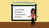 Converting Decimals, Fractions and Percents (Quick Teaching Tip)
