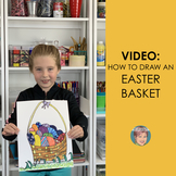 Distance Learning Teaching Video: How to Draw an Easter Basket