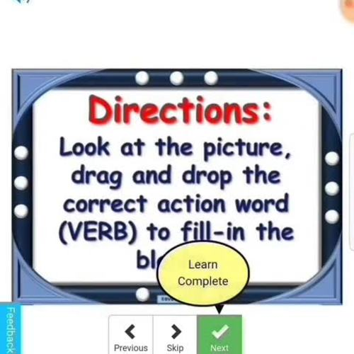 BOOM CARDS Animated Vocabulary VERBS & Sentence Formulation Teletherapy