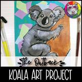 Australian Outback Art Project, Koala Art Lesson