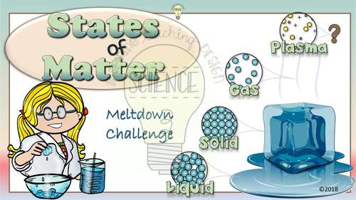 States of Matter Hands-on Ice Cube Activities to Demonstrate Changing Matter