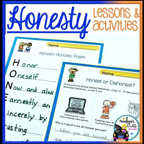 Trustworthiness BUNDLE:  All Trustworthy and Honesty Lessons