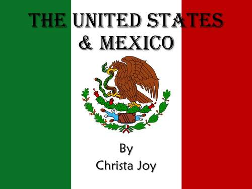 US and Mexico a Current Events Unit for Special Education