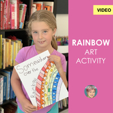 Distance Learning Video: Easy Rainbow Art Project