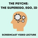 Video Lecture on the Psyche:  Superego, Ego, Id