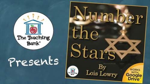 Number the Stars Novel Study Book Unit Distance Learning
