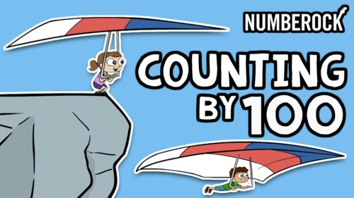 Skip Counting by 100 Song ★ Count by 100 Song for 2.NBT2 ★ TEKS 1.5B Animation