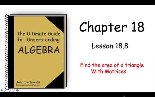 The Ultimate Guide to Understanding Algebra: Chapter 18