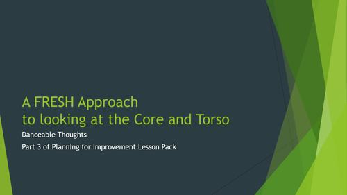 Planning for Improvement Toes to Head Lesson 3 Core and Torso Muscle Groups