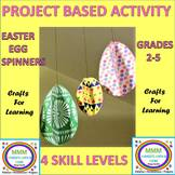 Distance Learning Craft- Egg Spinners- Following Direction