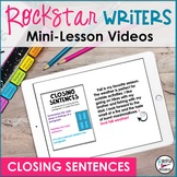 Closing Sentences Video- Downloadable | Distance Learning