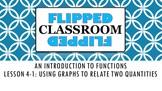 Algebra 1 Flipped Classroom - Lesson 4-1: Using Graphs to
