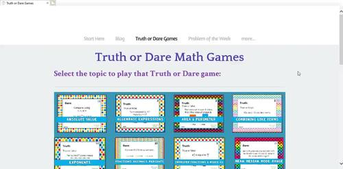 Digital Math Activities