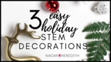 3 Easy Holiday STEM Decorations | STEMTech Co. Show