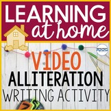 Writing Prompt Video - Alliteration Writing Activity - Dis
