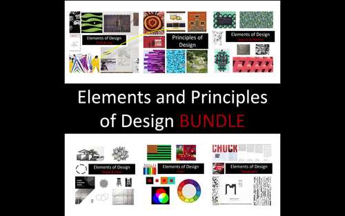 Elements and Principles of Design BUNDLE
