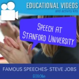 "Famous Speeches Steve Jobs Stanford Commencement ""Connecti"