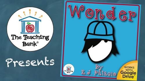 Wonder Novel Study Book Unit
