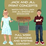 Print Concepts  Full Week of Reading and Writing Activities