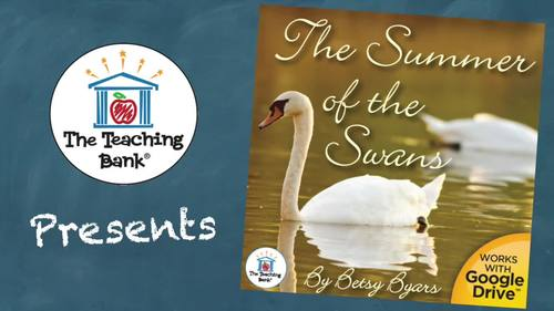 The Summer of the Swans Novel Study Book Unit