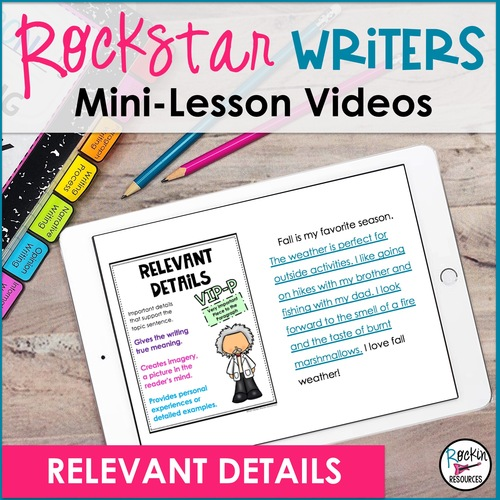 Relevant Details Video- Downloadable   Distance Learning