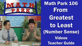 MATH PARK 106: FROM GREATEST TO LEAST (Number Sense)