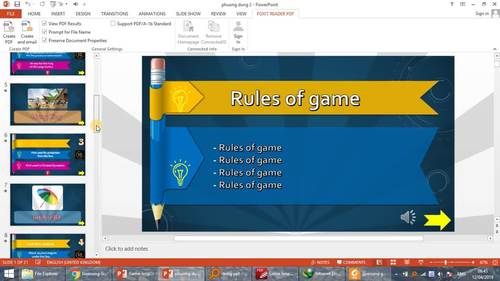 Guessing game powerpoint template