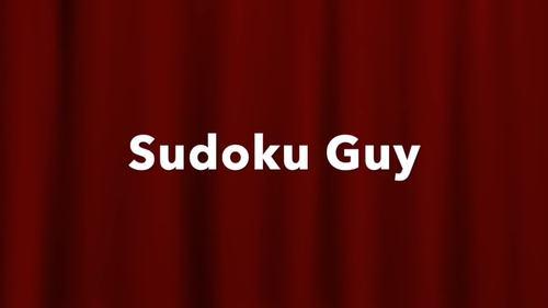 Fun with Sudoku  (Gr 4-6, LESSON 1): Sudoku rules. The TMB procedure