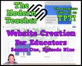 Creating a Website for Educators (32:11) - The Modern Teacher