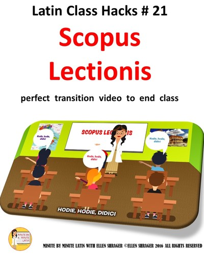 """Latin Transition Video #21 """"Today I learned"""" for CI TCI TPRS and 90% TL"""