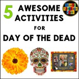 Day of the Dead Activities, Crafts, Song, Reading, Día de