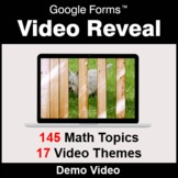 Video Reveal Game with Google Forms - DEMO - Distance Learning