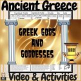 Ancient Greece Greek Gods & Goddesses Video, Digital Task