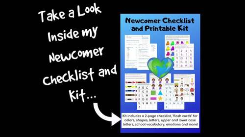 Newcomer Checklist & Materials