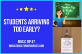 Music Teacher Tip #7: Early Students