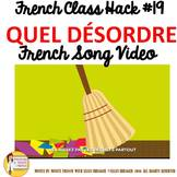 """19 French Class Transition Video """"Clean the Room"""" for CI T"""