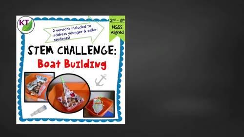 Build a Boat STEM Challenge Mini Bundle