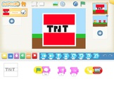 Coding Project For iPad, Scratch Jr, No: 1, Yrs 3/4, Minec