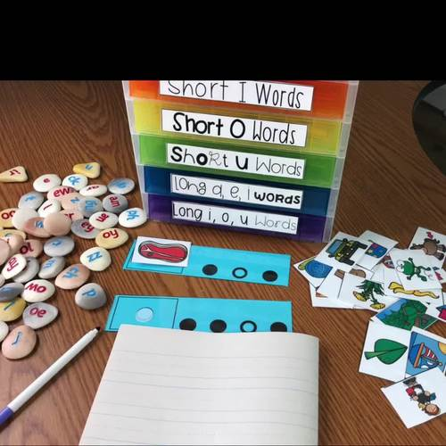 Dot Cards - Blending and Segmenting Cards