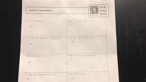TABE Math Worksheets + Online TABE Math Practice Questions By Testinar Inc