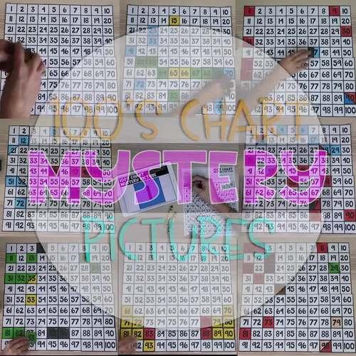 100's Chart Mystery Puzzles Kindergarten-Bundle