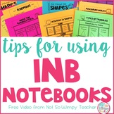 Interactive Notebooks: FREE Tips Video