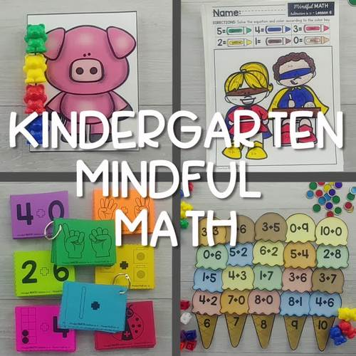 Counting to 100 - Kindergarten Mindful Math