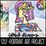 Picasso Art Project, Cubist Self-Portrait